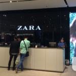 LED Screen bei Zara - WIPAmedia LED Displays