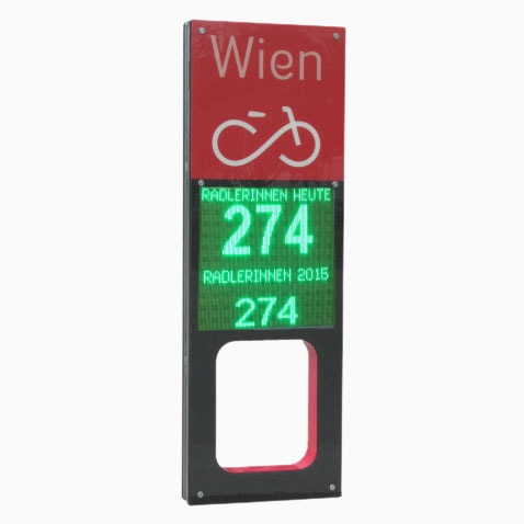 Radstele Wien - WIPA LED Displays